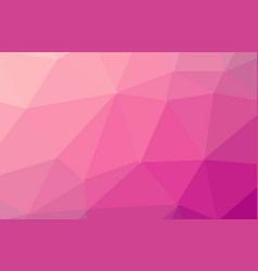 Abstract purple pink polygon geometric background vector