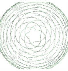 Abstract spirograph element vector image