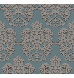 Baroque Vintage floral pattern element vector image