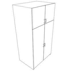 Cabinet vector