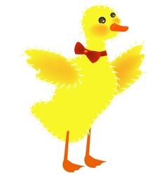 Ducky bow vector