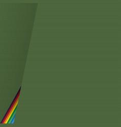retro background with rainbow vector image