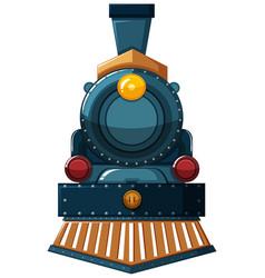 Train design on white background vector
