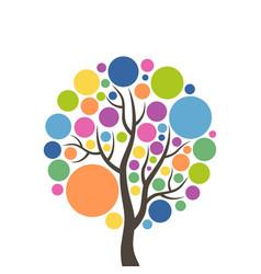 tree ball vector image