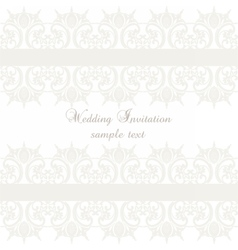lace crochet card background vector image vector image