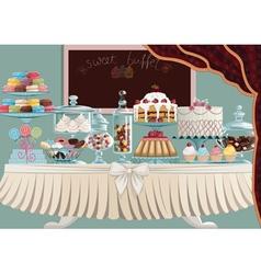 Sweet treats vector image vector image