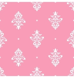 Classical luxury damask ornament vector image vector image