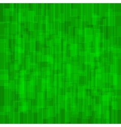 Abstract Green Background with Rectangles vector image