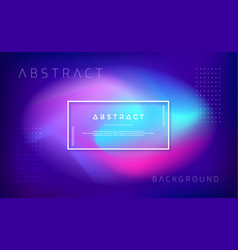 abstract modern dynamic trendy background vector image