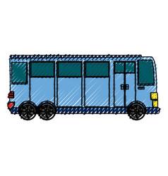 big bus vehicle vector image