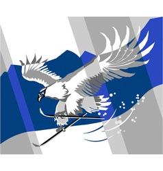 Eagle sport vector