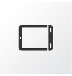 Palmtop icon symbol premium quality isolated vector