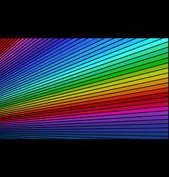 Rainbow bright background vector