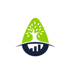 tree business incubator vector image