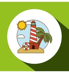 Vacations icon design vector image