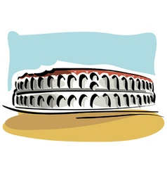 Verona Arena vector