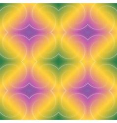 Design seamless colorful diamond geometric pattern vector image vector image
