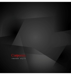 Abstract black shapes background vector