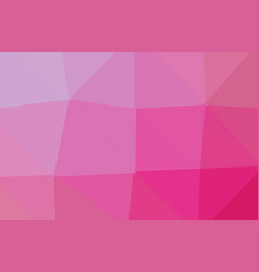 abstract purple pink polygon geometric background vector image