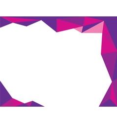 background trangle purple vector image