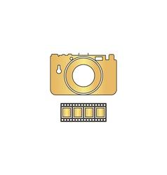 Camera computer symbol vector