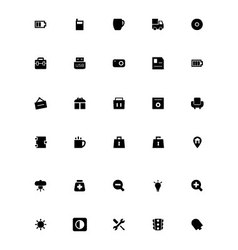 Mini Icons 19 vector