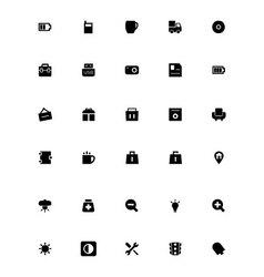 Mini icons 19 vector