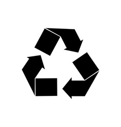 Recycle symbol vector image