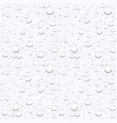 Water drops on car glassrain drops on clear window vector