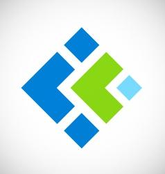 box business logo vector image vector image