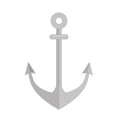 Anchor nautical symbol vector