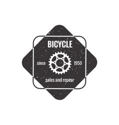 Bike badge outline vector