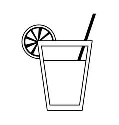 Fruit juice icon image vector