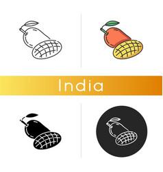 Mango fruit icon vector