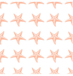 sea star pattern 3 vector image