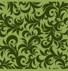 green plants vector image