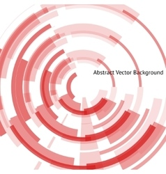 red vinyl record vector image vector image