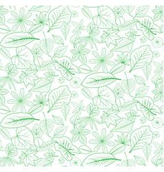 Seamless leaf backdrop vector