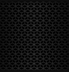 black metal background geometric pattern vector image