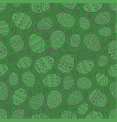 Happy easter seamless background seamless pattern vector