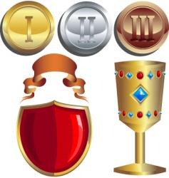 rewards vector image vector image