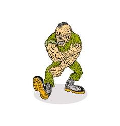 Skull Armyboy vector