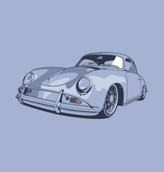 vintage car 06 vector image