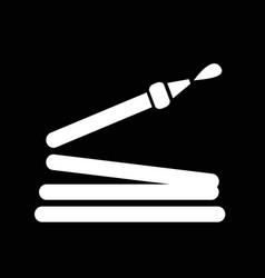 water hose icon design vector image