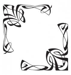 Art deco corners vector