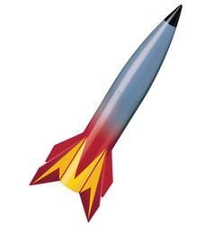 Missile isolated 3d vector