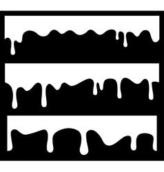 seamless drips vector image