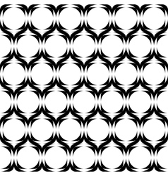 Design seamless horizontal zigzag pattern vector image