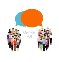 Opinion poll vector