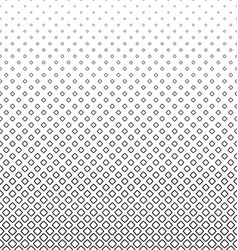 Abstract black and white rounded square pattern vector image